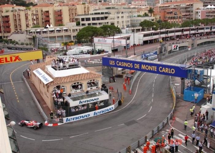 Monaco Anthony Noghes Grandstand